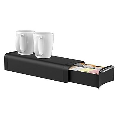 Mind Reader Slim 12 Coffee Pod and Condiment Organizer