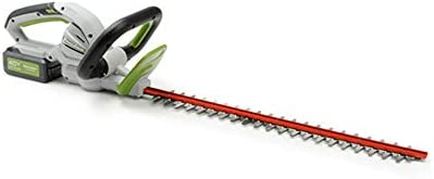 POWERSMITH 24 Inch Cordless Electric Hedge Trimmer with 40V Battery and Charger