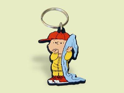 Linus mit Schmusedecke Peanuts Schleich Schlüsselanhänger 22396