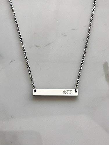 Phi Sigma Sigma Sorority Necklace Greek Life