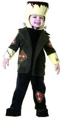 Frankenstein Costume Boy (Toddler 2-4 for 1-2 Yrs - Lil Frankie Costume)