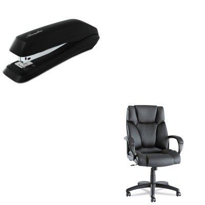 KITALEFZ41LS10BSWI54501 - Value Kit - Best Fraze High-Back Swivel/Tilt Chair (ALEFZ41LS10B) and Swingline Standard Strip Desk Stapler (SWI54501) by Best