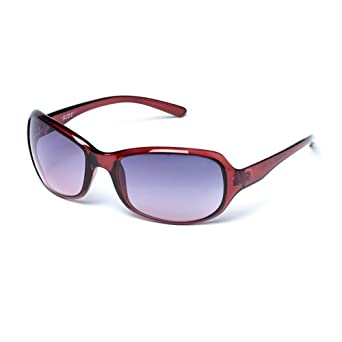 37223e2d98c6 MUK Women's Ruby Sunglasses Berry Frame with Rose Lens MUK067564 One Size
