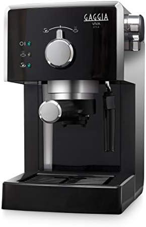 Gaggia Viva Style Macchina da Caffè Espresso Manuale, per Macinato e Cialde, RI8433/11