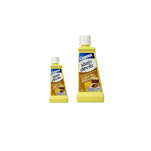 Carbona Stain Devils Coffee, Tea, Wine & Juice (2 Pack) (Coffee Tea Stains)
