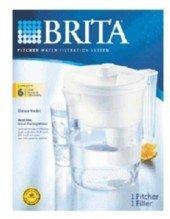 Brita Water Filtration Set-up, Pitcher Classic Model 35507