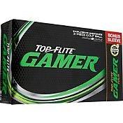 Top Flite Gamer Golf Balls + Gamer Tour Bonus Sleeve (15 Pack)