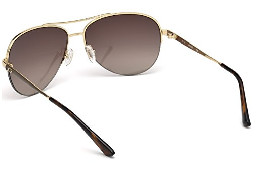 Brown Guess GU7468 Sonnenbrille Gradient Or Gold Xq10Arqw