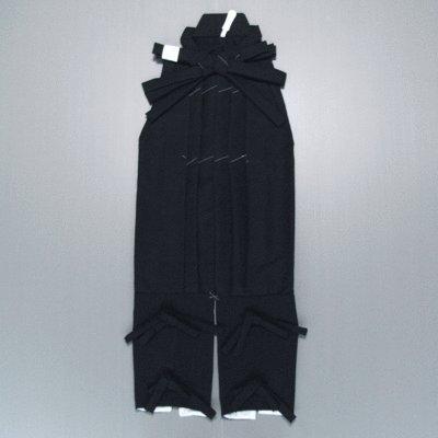【ノーブランド品】 たっつけ袴-祭り踊り手古舞袴用たっつけ袴 L 黒(NM-7835) B00NZQF8US