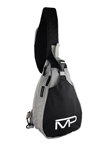 (Universal Conceal Carry Sling Pack - Spitfire by Man-PACK As Seen On ABC Sharktank (Black/Grey))