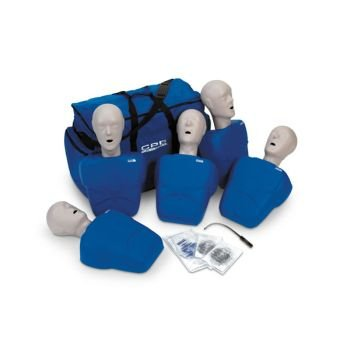 TPAK100/TPAK100T CPR Prompt Adult/Child Manikin 5 Pack (Tan or Blue)