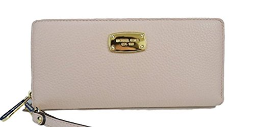 Michael Kors Jet Set Item Travel Continental Leather Wallet in Ballet Pink by Michael Kors