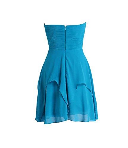 YiYaDawn - Vestido - trapecio - para mujer Altrosa