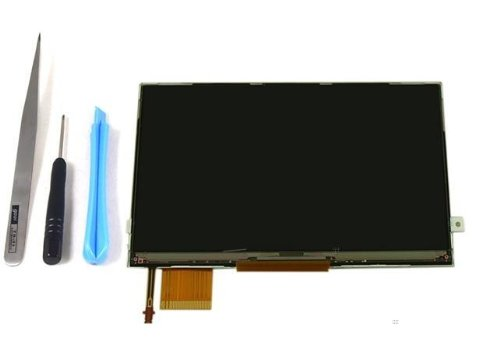 Original PSP 3000 LCD Screen with Backlight + Tool Kit ()