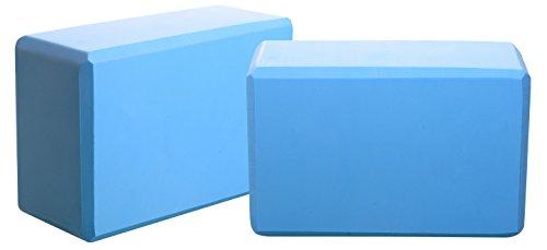 BalanceFrom BFYB-BL2 High Density Yoga Blocks, Blue