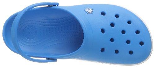 Crocs CR. 11016, Ciabatte Unisex – Adulto Blu (Ocean/White)