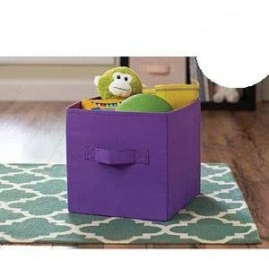Better Homes And Gardens Collapsible Fabric Storage Cube Purple Home Kitchen