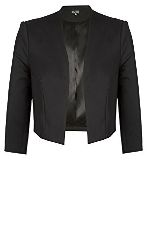 Designer Plus Size BOLERO AFTER 5 - Black - 22 / XL | City Chic