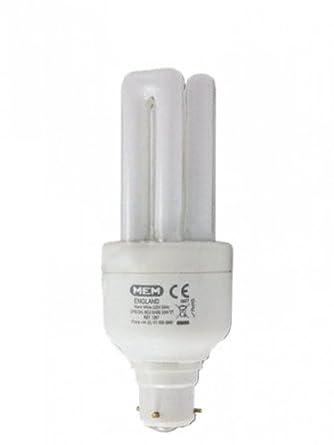 Mem Light Bulbs: Energy Saving Stick Light Bulb 3 Pin BC 15W MEMLITE (by Eaton) BC3 15,Lighting