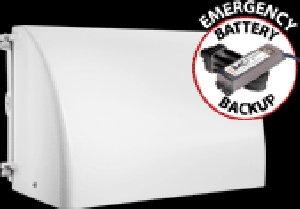 RAB Lighting WP2FCF32W/E2 WP2 Mid Sized Full Cutoff CFL Wallpack with Emergency Battery Back Up, Triple Type, Aluminum, 32W Power, 2400 Lumens, 277V, White