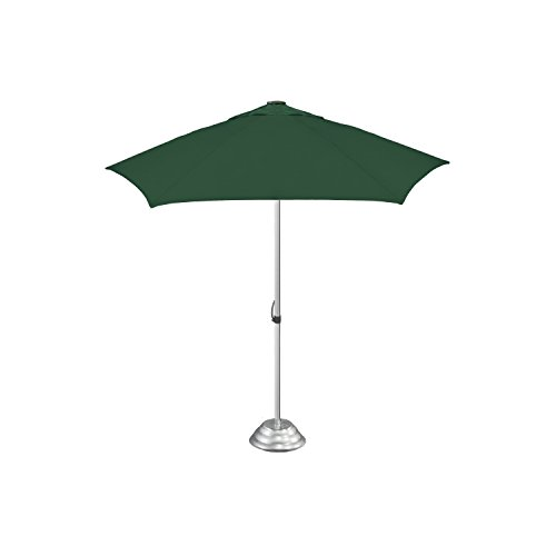 "StrombergBrand ""The Café Market"" Vented Patio Umbrella, Commercial Quality, Patented Construction, Hunter Green by StrombergBrand"