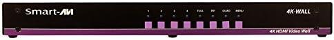 DVI HDMI Serial SmartAVI 4K-Wall SM-4KWL-S Digital Signage Appliance