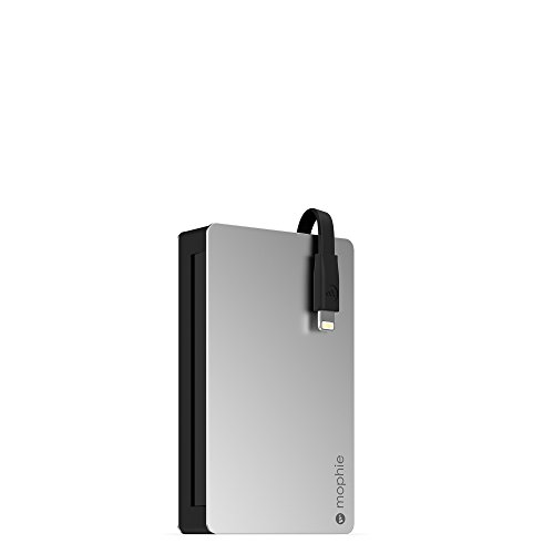 mophie Powerstation Plus 3x with Lightning Connector (5,000 mAh) - Black by mophie
