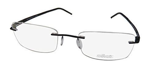 Silhouette LITE Twist 5393/58 Eyeglasses 6059 Black - Eyeglasses Frame Parts