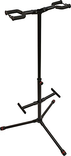 Ultimate Support JS-HG102C JamStands Series Double Hanging-Style Guitar Stand - with Personalized Colored Accent (Support Double Guitar Stand)