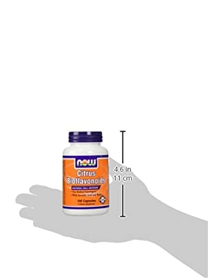 NOW Foods Citrus Bioflavonoid, 100 Capsules (Pack of 2)