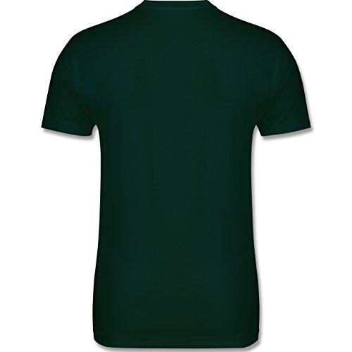 Urlaub - Ich brauche keine Therapie ich muss nur nach Malle - M - Dunkelgrün - L190 - Herren Premium T-Shirt
