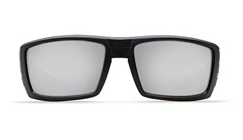 Costa Del Mar Rafael Sunglass, Matte Black Teak/Silver Mirror ()
