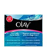 Olay 2-In-1 Daily Facial Cloths, 132 Count for Normal Skin For Sale