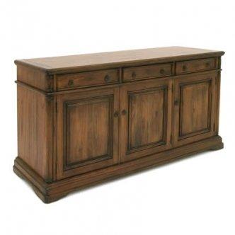 Zocalo Furniture Toscana 3 Door Sideboard TS015