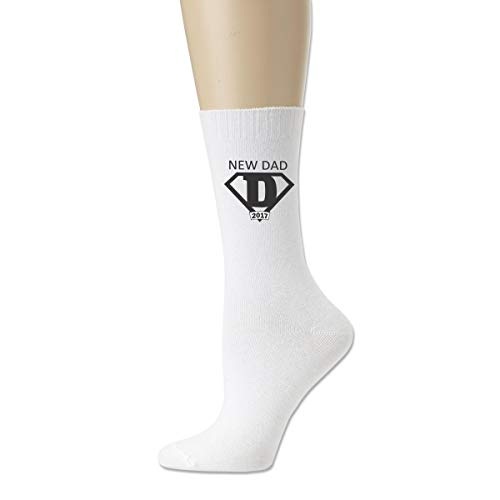 Women High Ankle Cotton Crew Socks New Dad 2017 Casual Sport Stocking