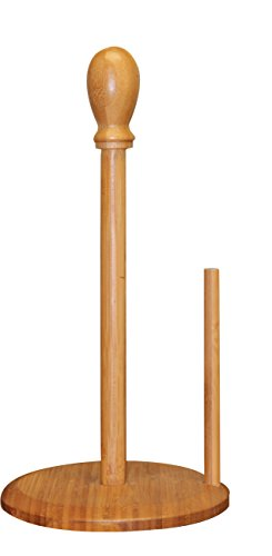 Wood Towel Holder (Bamboo Paper Towel Tissue Holder Home Decor, Counter Top Decor, Kitchen Counter Towels, Restaurant)