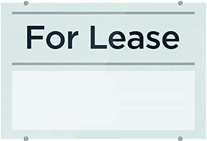 5-Pack CGSignLab 18x12 for Lease Basic Teal Premium Brushed Aluminum Sign
