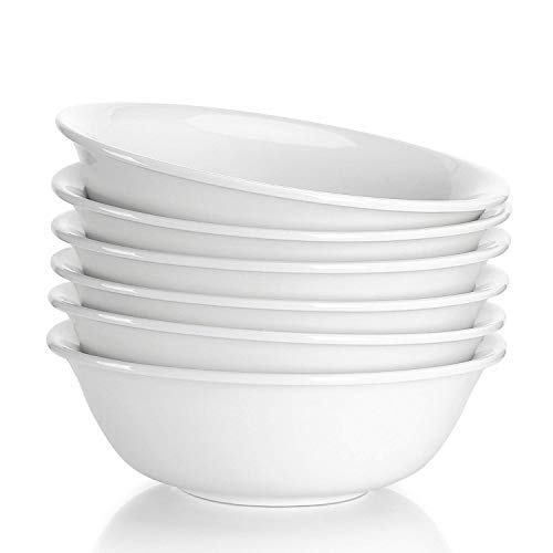 Sweese 1306 Porcelain Bowls - 20 Ounce for Cereal, Soup and
