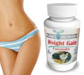 Gain de poids (Les courbes de gain) de formule - La plupart des utilisateurs de voir les résultats dans les 6-8 semaines. - Gain de poids pilules pour les femmes - Planète Ayurveda Gain de poids Formule - aide les femmes maigres prennent du poids. Le gain