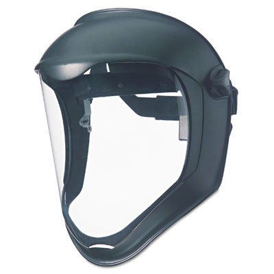 Uvex by Honeywell S8500 Bionic Face Shields, Uncoated, Clear/Black Matte (Shield Bionic Visor)