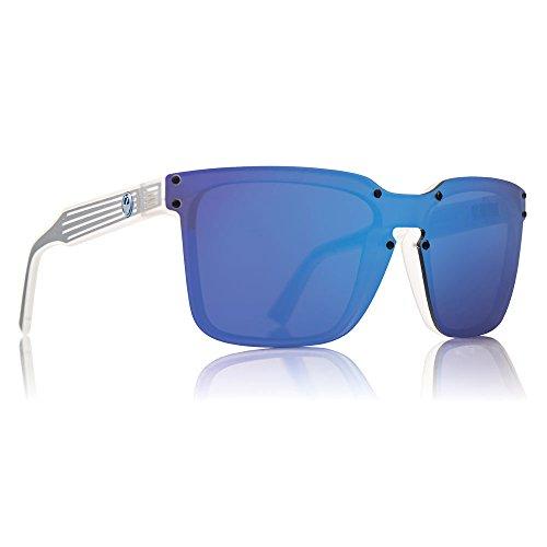 Dragon Alliance Matte Clear Blue Ion Mansfield - Dragon White Sunglasses