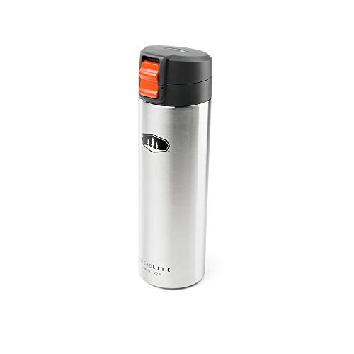 GSI Outdoors MicroLite 720 Flip, Vacuum Bottle, Stainless St