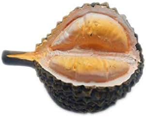 Hqiyaols Souvenir Fruit King Durian 3D Refrigerator Fridge Magnet Sticker Travel City Souvenirs Collection gifts Kitchen Resin