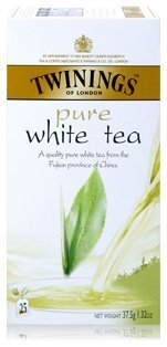 Twinings English Breakfast Pure White Tea 25 Sachets/box Light Flavour