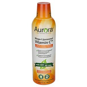 Aurora Nutrascience Mega-Liposomal Vitamin C - 3000 mg Vida Lifescience 16 oz Liquid