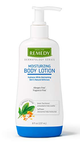 Remedy Dermatology Series Body Lotion for Dry Skin, Moisturizing Lotion for Body, Hands and Feet, Dermatologist Tested and Paraben Free, Great for Eczema or Sensitive Skin, 8 fl oz ()