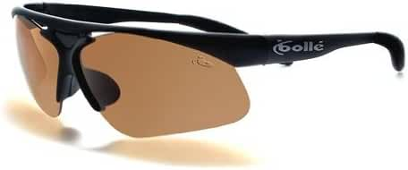 Bolle Performance Vigilante Sunglasses (Matte Black/G-Standard PLUS (EagleVision 2 Dark in frame + EagleVision 2 + TNS 20))