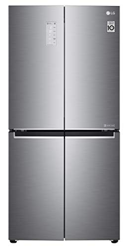LG 594 L Inverter Wi-Fi Frost-Free Side-By-Side Refrigerator (GC-B22FTLPL, Shiny Steel)