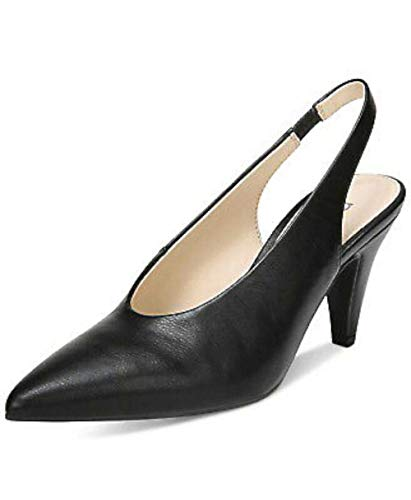Price comparison product image Bar III Womens Tanya Pointed Toe Slingback Classic Pumps,  Black,  Size 6.5