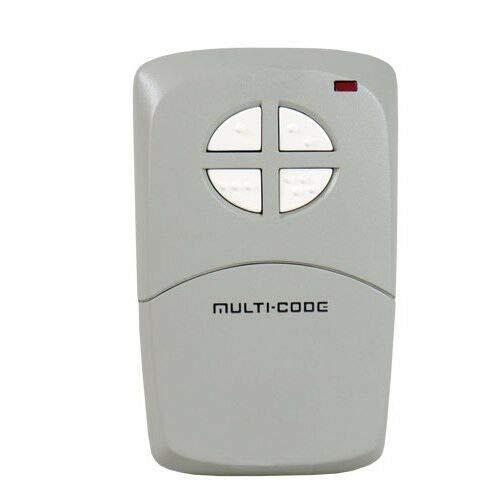 - MultiCode 414001 MCS414001 4-Button Visor Gate Garage Remote
